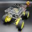 โครงหุ่นยนต์รถ 4 ล้อ พร้อมโช๊คล้อรถ thumbnail 1