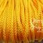เชือกถัก P.P. #8 สีเหลืองทอง (10เมตร) thumbnail 1