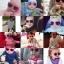 Mustachifier Pink Sunglasses Age 0-2 แว่นกันแดดเด็กสีชมพู thumbnail 3