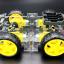 โครงรถ หุ่นยนต์ 4WD สีใส smart car chassis thumbnail 5