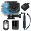 X1000+Extra Battery +Dual Charger + TMC Selfie (Blue Color) thumbnail 2