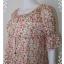 Dress0086--เดรสแฟชั่น ชีฟอง นำเข้า สวยๆ Prmuno อก 34-36 นิ้ว thumbnail 5