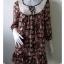 """Dress0365--เดรสแฟชั่น นำเข้า สวยๆ """"อก 34 นิ้ว"""" thumbnail 1"""