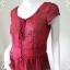 เสื้อแฟชั่น ชีฟอง สีแดง ANN taylor อก 36 -37 นิ้ว thumbnail 2