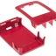 Raspberry Pi 2/3 Model B/B+ Case box red and white thumbnail 3