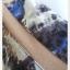 VJP5590--เดรสแฟชั่น หรือเสื้อตัวยาว ชีฟอง ลาย อก free thumbnail 5