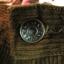 BNB0489-กางเกงผ้าลูกฟูก แบรนด์เนม ESPADA สีน้ำตาล เอว 26 นิ้ว thumbnail 5