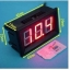 LED Voltage Meter Mini Digital Voltmeter DC 4.5V To 30V สีแดง thumbnail 3