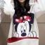 เสื้อกันหนาว สีขาว สกรีนรูปมิกกี้เม้าส์ มีฮู้ดๆมีหู (สกรีนหลัง Mickey Mouse) thumbnail 1