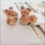 Lovely Couple Set ชุดรับไหว้ถ้วยไม้พร้อมตะเกียบไม้และที่วางตะเกียบเซรามิก (มี 2 แบบคือรูปนกและรูปกวางค่ะ) thumbnail 3