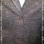 BNJ1007-ชุดสูทเสื้อกระโปรง สีน้ำตาเข้ม KIZZY อก 35 นิ้ว thumbnail 5