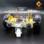 โครงรถ หุ่นยนต์ Smart Car Chassis 2 ชั้น thumbnail 5