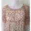 Dress0086--เดรสแฟชั่น ชีฟอง นำเข้า สวยๆ Prmuno อก 34-36 นิ้ว thumbnail 4