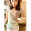 เสื้อออกงาน คอวี เล่นลายโทนเขียวตัวสวย แต่งผ้าบางด้านหน้า thumbnail 1