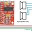 PAM8403 super mini digital amplifier board Red PCB thumbnail 3