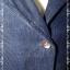 Jeans0038---เสื้อคลุมลูกฟูก สีน้้ำเงิน อก 36 นิ้ว thumbnail 4