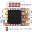 โมดูลขยายเสียง TDA7498 DC 14-34V Amplifier Board of Class D 2X100W Dual Channel Audio Stereo Amplifier Board XH-M510 thumbnail 5