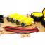 โครงรถ หุ่นยนต์ 4WD สีแดง smart car chassis thumbnail 7