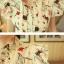เสื้อคอจีน จับจีบด้านหน้า ลายน่ารัก แขนระบาย โทนสีขาว thumbnail 3
