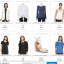 BN4655--เสื้อเชิ้ต แบรนด์เนม สีขาว APT.9 อก 38 นิ้ว thumbnail 6