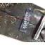 neck0028-เนคไทมือสอง Jean Pual Gaultier สีเขียวทหาร ลายหินอ่อน thumbnail 3