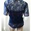 เสื้อผ้าลูกไม้ สีน้ำเงิน มือสอง แบรนด์ Victoria s Secret อก 36-38 นิ้ว thumbnail 2