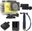 SJCAM SJ5000X Elite WiFi 4K (+Extra Battery+DualCharger+TMC Gold+ProtectiveLens) thumbnail 1