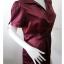 BN3102--เสื้อแฟชั่น สวยๆ สีแดงเข้ม BCBG MAXAZRIA อก 35-38 นิ้ว thumbnail 2