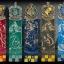Harry Potter Crest Bookmark Set thumbnail 2