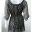 "Dress0641--เดรสแฟชั่น ชีฟอง สวยๆ ""อก 33-35 นิ้ว"" thumbnail 3"