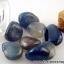 ▽=บลูอาเกต Blue Agate ขนาดเล็กในขวดแก้วจุกก๊อก