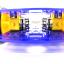 โครงรถ หุ่นยนต์ 4WD สีน้ำเงิน smart car chassis thumbnail 8
