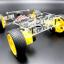 โครงหุ่นยนต์รถ 4 ล้อ ระบบเลี้ยว servo thumbnail 7