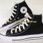 รองเท้า converse หุ้มข้อ สีดำ thumbnail 1