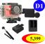 Sj5000X +(Battery+Dual charger+Protective Lans+Monopod Selfie) thumbnail 1