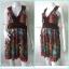 Dress0072--เดรสแฟชั่น นำเข้า CLEF DE SOL อก 33 นิ้ว thumbnail 1