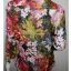 "BN2943--เสื้อแฟชั่น ลายดอกไม้ แบรนด์ CHICO'S ""อก 40 นิ้ว"" thumbnail 3"