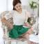 [พร้อมส่ง]เสื้อสตรีสีขาวเนื้อดี ช่วงตัวและแขนเป็นผ้าลูกไม้สวยหวาน ตัดเย็บเรียบร้อยใส่ได้หลายโอกาสค่ะรหัส MN24 thumbnail 4