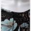 jp4955---เสื้อแฟชั่น นำเข้า สีดำลายดอกไม้ อก 32-33 นิ้ว thumbnail 4