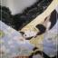 jp3579-เสื้อแฟชั่น สีฟ้าลาย นำเข้า LueyLove made in usa อก 34-36 นิ้ว thumbnail 4