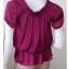 BN3334--เสื้อแฟชั่น สีชมพูบานเย็น แบรนด์เนม twentyone อก free-36 นิ้ว thumbnail 3