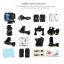 SJCAM SJ5000X Elite WiFi 4K (2x Battery +1x Dual-Charger+1x Monopod+1x Bobber+ 1x Kingston32) thumbnail 13