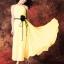 ชุดเดรสยาวผ้าชีฟอง แขนกุด Bohemian thumbnail 1