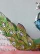 ตุ๊กตาเรซิ่นรูปนกยูง ของมงคลแต่งบ้านประดับบ้าน รหัสสินค้า VT0004