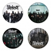 Slipknot button badge 1.75 inch custom backside 4 type Pinback, Magnet, Mirror or Keychain. Get 4 in package [6]