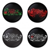Bullet for my Valentine button badge 1.75 inch custom backside 4 type Pinback, Magnet, Mirror or Keychain. Get 4 in package [9]