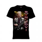 เสื้อยืด วง Bon Jovi แขนสั้น แขนยาว S M L XL XXL [2]