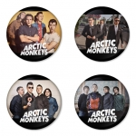Arctic Monkeys button badge 1.75 inch custom backside 4 type Pinback, Magnet, Mirror or Keychain. Get 4 in package [12]