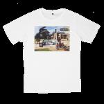 เสื้อยืด วง Oasis สีขาว แขนสั้น S M L XL XXL [1]