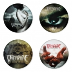 Bullet for my Valentine button badge 1.75 inch custom backside 4 type Pinback, Magnet, Mirror or Keychain. Get 4 in package [1]